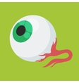 halloween eyes vector image vector image