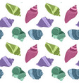 seamless endless pattern with print colorful vector image vector image