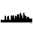 Singapore skyline vector image vector image