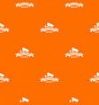 video control pattern orange vector image vector image