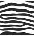 Zebra Print Pattern vector image vector image