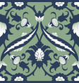 arabesque damask vintage decor ornate seamless vector image vector image