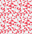 Seamless pattern of geometric vector image vector image