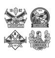 vintage vapes emblems labels badges logos vector image