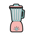 cute blender graphic design vector image vector image
