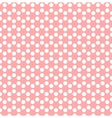 Dotted background in hexagonal arangement vector image