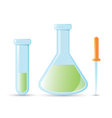 Medical chemistry supply vector image
