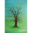 painting of a tree vector image
