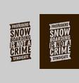 snowboard typographic tee print design scribble vector image vector image