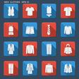 Fashion clothes for men vector image