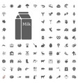agriculture and farm icons set vector image vector image