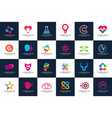 best modern logo design collections vector image vector image