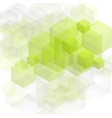 Bright green tech design vector image vector image
