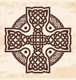 celtic national cross vector image vector image