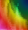 Colorful scales pattern vector image vector image
