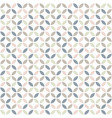 geometric seamless pattern in pastel colors mid vector image vector image