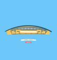 new spanish football stadium located in madrid vector image