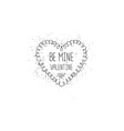 Vintage love label for greeting card vector image