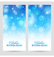 Abstract winter or christmas background vector image vector image