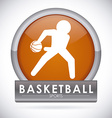 basketball design vector image vector image