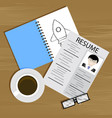begin and create career vector image vector image