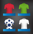 Cycling Jerseys vector image vector image