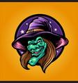 magic withcraft halloween vector image vector image