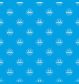 alebard pattern seamless blue vector image vector image