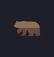 Bear computer symbol vector image