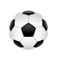football ball isolated vector image