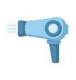 hairdryer flat icon vector image