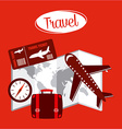 holiday travel vector image vector image