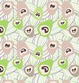 Peacock eye vector image vector image