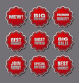 stickers for best sales vector image