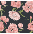 Vintage floral composition set with peony