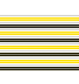 Yellow Black White Stripes Background vector image vector image