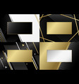 abstract luxury background design of line vector image vector image