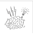 Brain storming vector image vector image