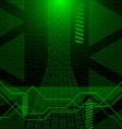 Digitall background vector image