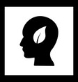 Eco mind icon