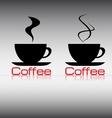 label coffee vector image vector image