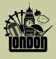 london eye4 vector image