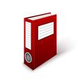 Office Folder Template vector image
