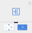 premium initial e geometric logo template and vector image vector image