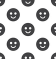 smile seamless pattern vector image vector image