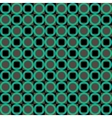 Green abstract geometric seamless pattern vector image