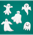 a set of cast for halloween vector image vector image
