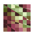 Deep Tuscan Red Purple and Green Abstract Low vector image