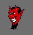 Devil Fang vector image vector image