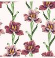 flower vintage seamless pattern vector image vector image